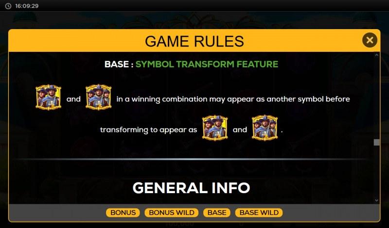 Queen's Guard :: Symbol Transform Feature