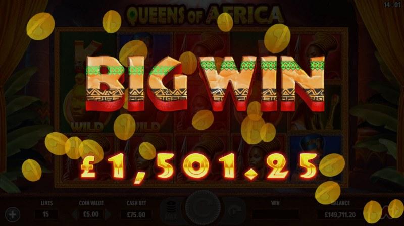 Queens of Africa :: Big Win