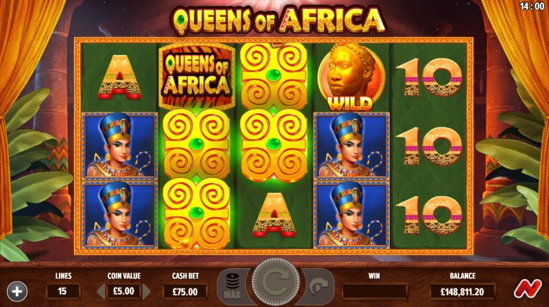 Queens of Africa :: Mystery Symbols random appear during any spin
