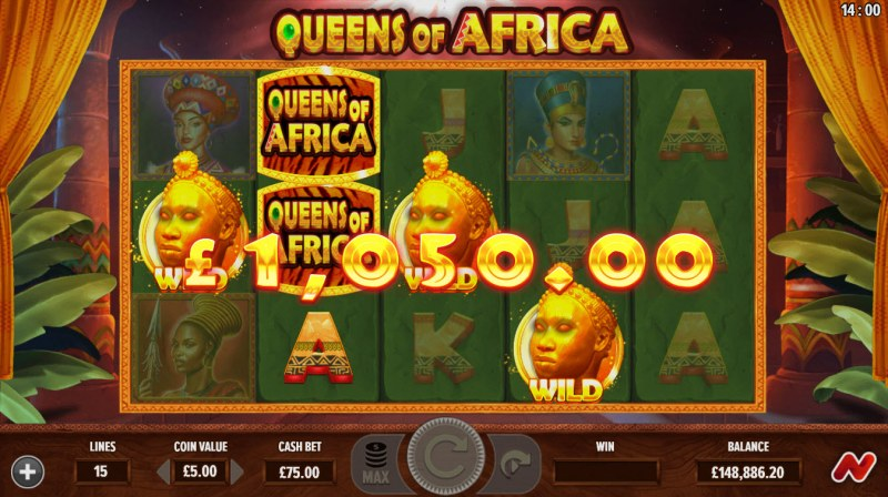 Queens of Africa :: A four of a kind win