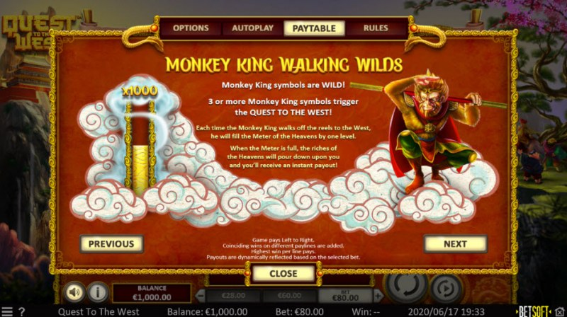 Quest to the West :: Monkey King Walking Wilds