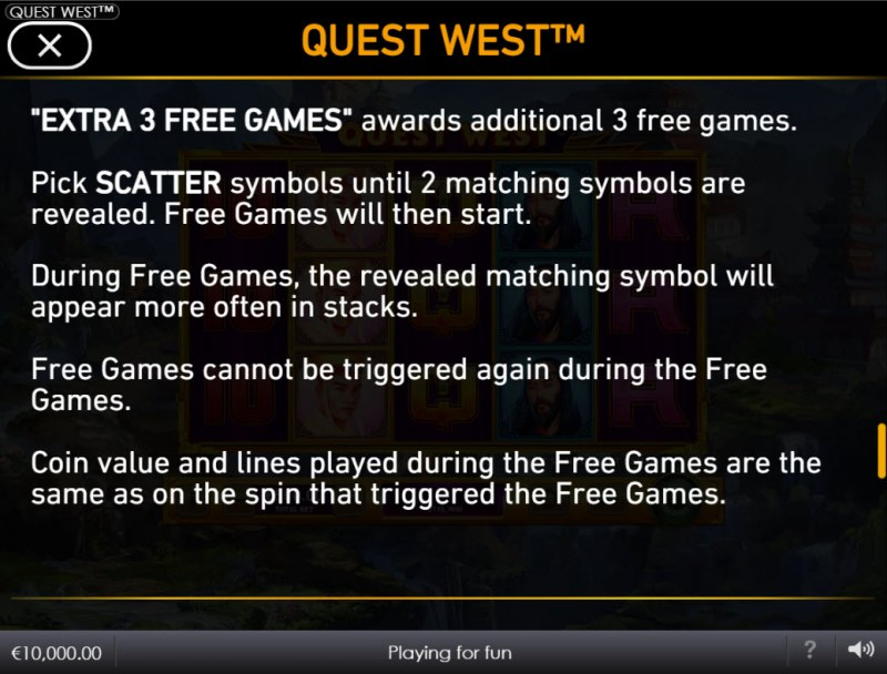 Quest West :: Free Game Rules