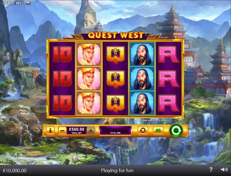 Quest West :: Main Game Board