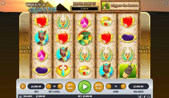 Queen of Queens II :: Main Game Board
