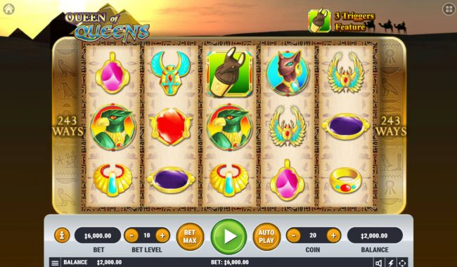 Queen of Queens :: Main Game Board