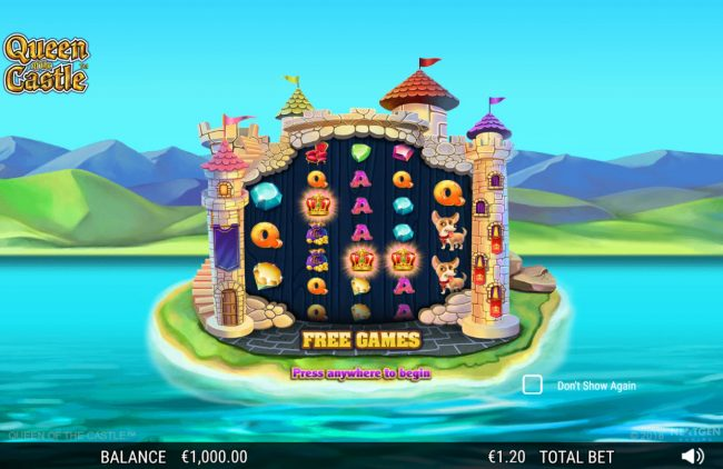 Casino Superlines featuring the Video Slots Queen of the Castle with a maximum payout of 0