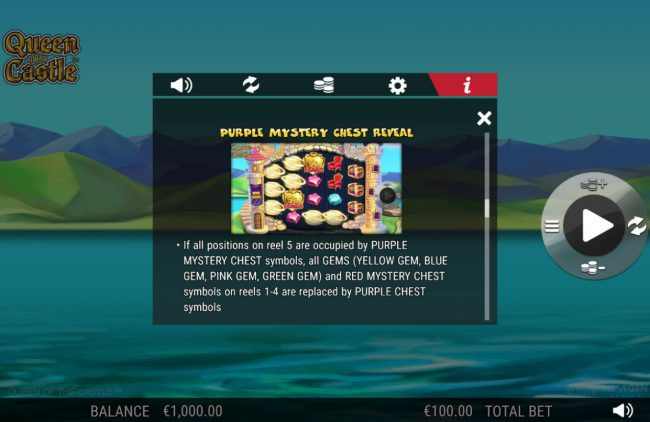 Betway featuring the Video Slots Queen of the Castle with a maximum payout of 0