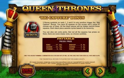 Casino Superlines featuring the Video Slots Queen of Thrones with a maximum payout of $25,000