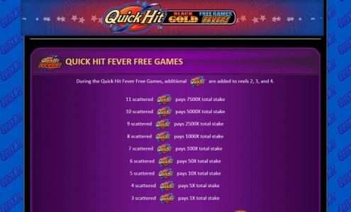 quick hit fever free games