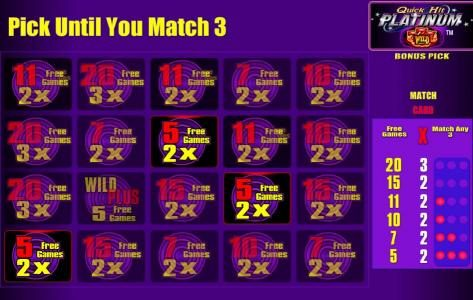 5 free games awarded with a 2x multiplier