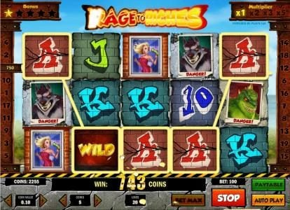 five of a kind triggers a 750 coin jackpot