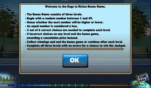 how to play bonus game