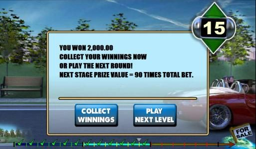 we won 2000 coins after completeing two bonus game levels