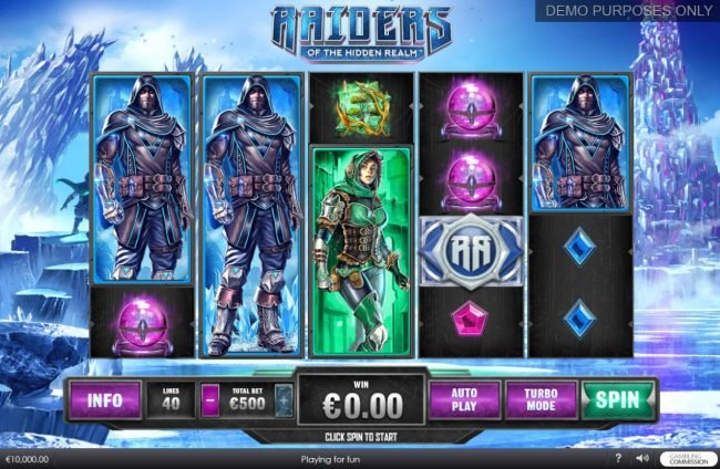 Unleashed featuring the Video Slots Raiders of the Hidden Realm with a maximum payout of $250,000