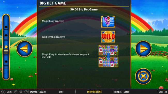 Play slots at Lapalingo: Lapalingo featuring the Video Slots Rainbow Riches Fortune Favours with a maximum payout of $250,000