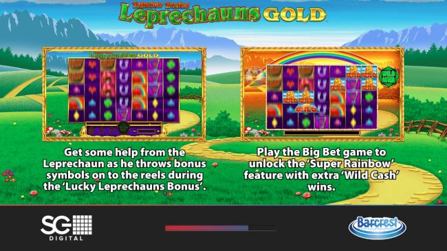 Play slots at Wicked Jackpots: Wicked Jackpots featuring the Video Slots Rainbow Riches Leprechauns Gold with a maximum payout of $250,000