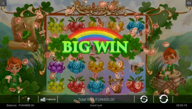 Rainbow Wilds :: Big Win