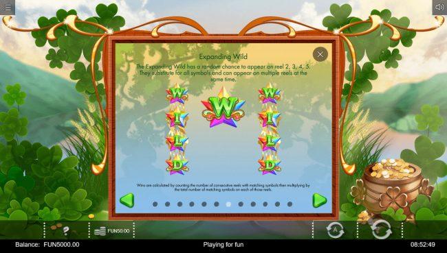 Rainbow Wilds :: Wild Symbol Rules