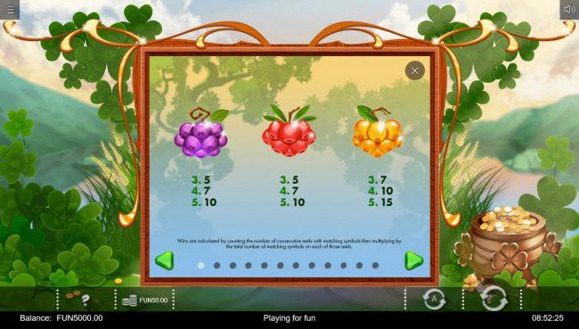 Rainbow Wilds :: Low Value Symbols
