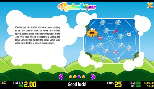Rainbow :: Bonus Game Rules