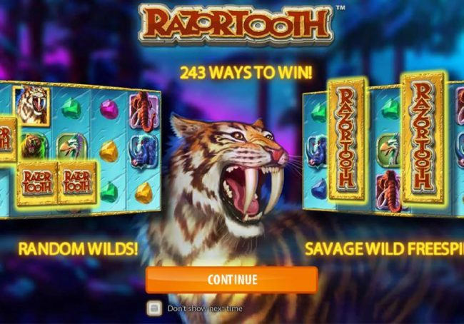 Play slots at Spinrider: Spinrider featuring the Video Slots Razortooth with a maximum payout of $20,000