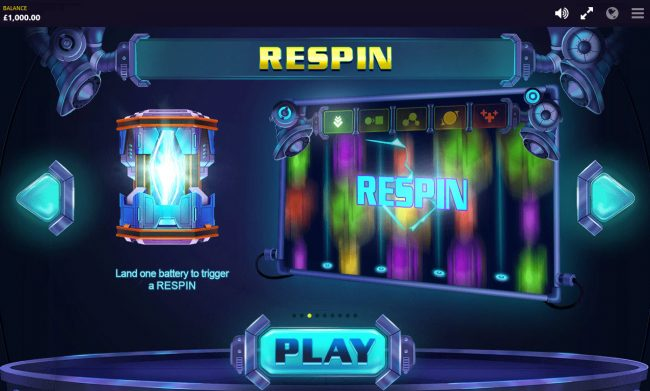 Reactor :: Respin Feature Rules