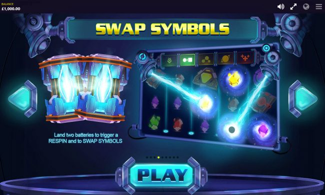 Reactor :: Swap Symbols Feature