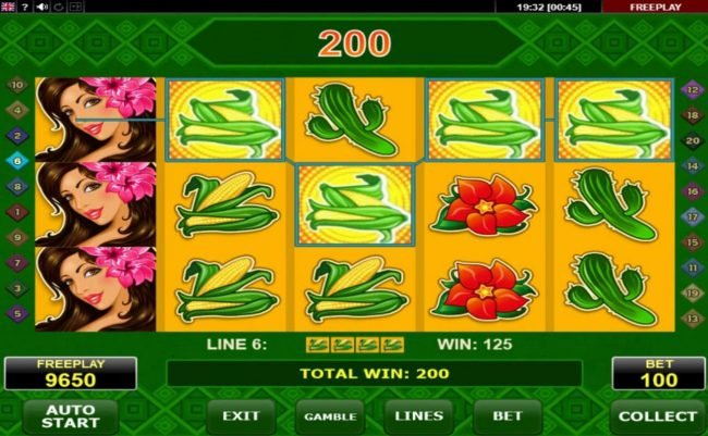 Malina featuring the Video Slots Red Chilli with a maximum payout of $50,000