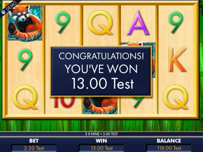 Free Spins feature pays out 13.00