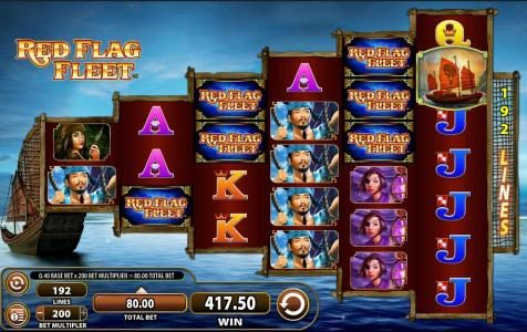 Play slots at Simba Games: Simba Games featuring the Video Slots Red Flag Fleet with a maximum payout of $250,000