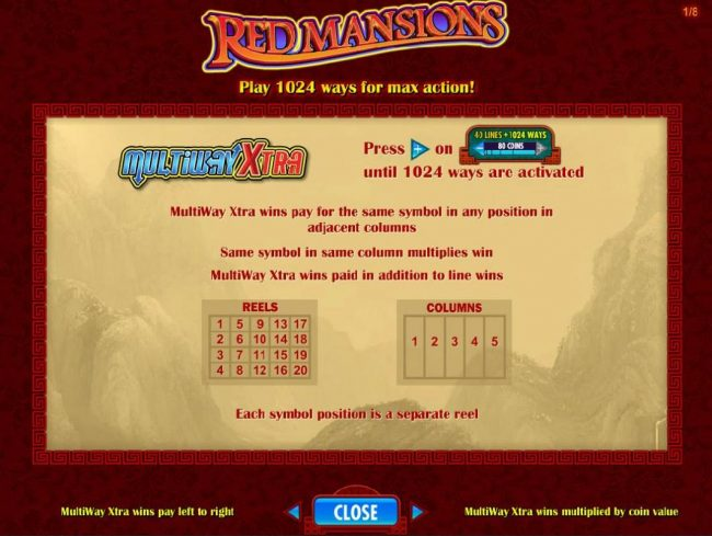 Vera&John featuring the Video Slots Red Mansions with a maximum payout of $250,000