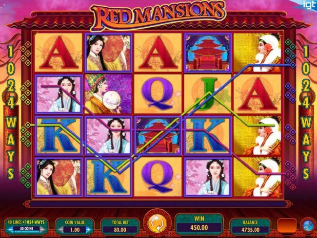 Fika Casino featuring the Video Slots Red Mansions with a maximum payout of $250,000
