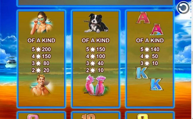 TS featuring the Video Slots Redroo with a maximum payout of $5,600