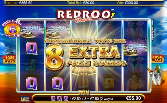 Karamba featuring the Video Slots Redroo with a maximum payout of $5,600