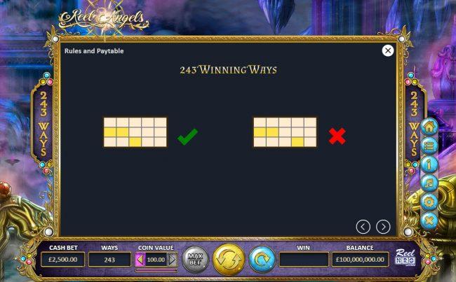 Reel Angels :: 243 Ways to Win