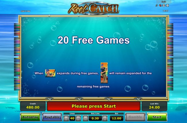 20 Free Games Awarded