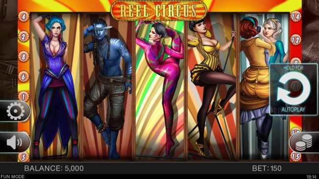 Play slots at 888 Tiger: 888 Tiger featuring the Video Slots Reel Circus with a maximum payout of $15,000