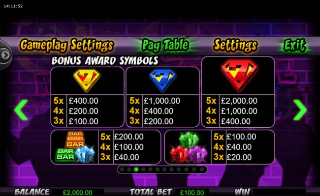 Play slots at Cheeky Riches: Cheeky Riches featuring the Video Slots Reel Force 5 with a maximum payout of $250,000