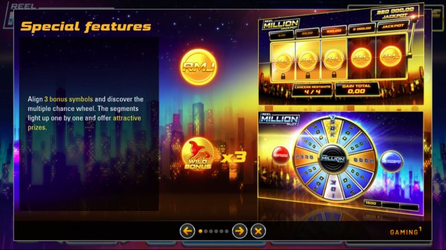Reel Million Slot :: Special Features