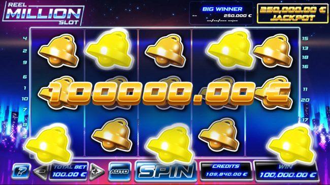 Reel Million Slot :: Mega Win