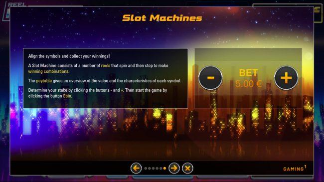 Reel Million Slot :: General Game Rules
