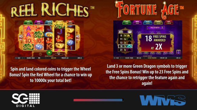 Reel Riches Fortune Age :: Introduction