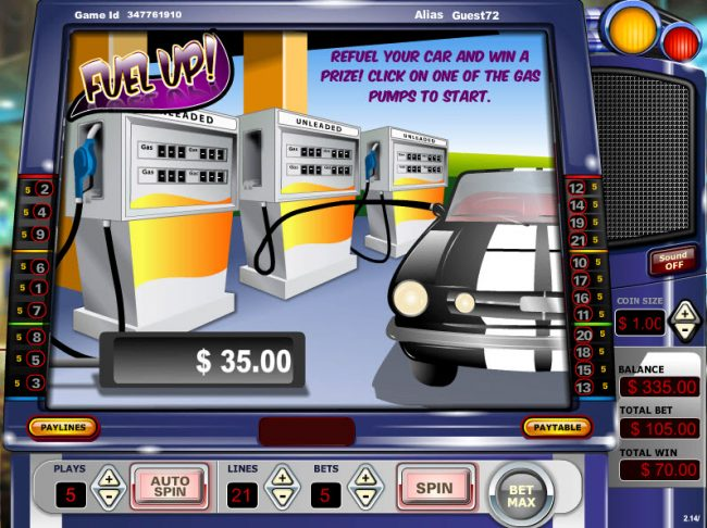 Vegas Crest featuring the Video Slots Reel Wheels with a maximum payout of $15,000