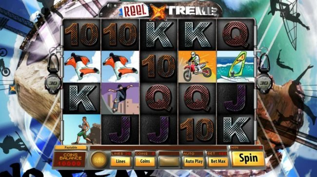 Jupiter Club featuring the Video Slots Reel Xtreme with a maximum payout of $3,000