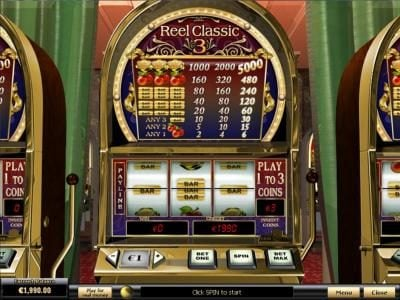 Play slots at Rey8: Rey8 featuring the Video Slots Reel Classic 3 with a maximum payout of $75,000