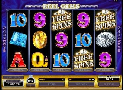 Luxury featuring the Video Slots Reel Gems with a maximum payout of $120,000