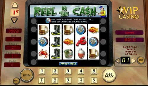 Play slots at Prime Slots: Prime Slots featuring the video-Slots Reel in the Cash with a maximum payout of 2,500x