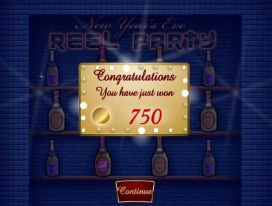 888 Tiger featuring the Video Slots Reel Party with a maximum payout of $50,000