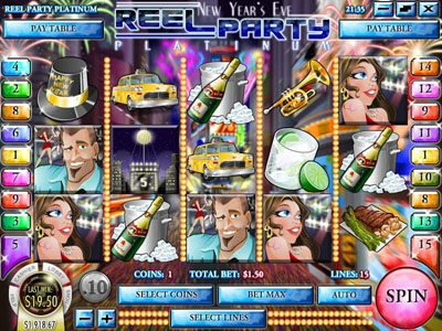 Play slots at Box24: Box24 featuring the Video Slots Reel Party Platinum with a maximum payout of $25,000