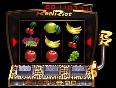 Winaday featuring the Video Slots Reel Riot with a maximum payout of $40,000